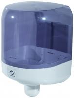 Antibakteriální zásobník na papírové ručníky v roli Papernet 416167 - se středovým odvíjením, plastový, bílo-modrý