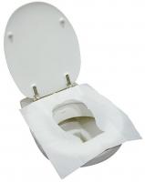 Jednorázová hygienická podložka na WC sedátko - papírová, 32 ks