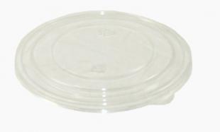 Plastové víčko k EKO misce na salát 500-750 ml - PET, transparentní, 50 ks