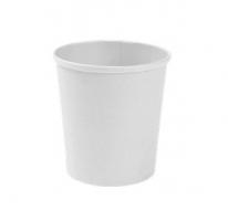 Kulatá EKO miska na polévku 460 ml - papírová, bílá, 25 ks