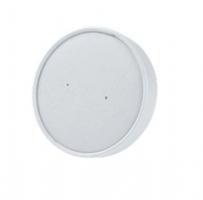 Víčko na EKO misku na polévku 230-460 ml - papírové, bílé, 50 ks