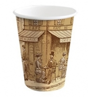 Papírový termo kelímek Coffee To Go 0,2 l - s motivem, 50 ks