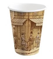 Papírový termo kelímek Coffee To Go 0,3 l - s motivem, 50 ks