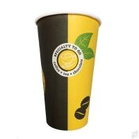 Papírový termo kelímek Coffee To Go 0,4 l - s motivem, 50 ks