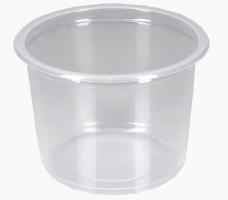 Kulatá zatavovací miska na polévku 500 ml - plastová, PP, transparentní, 50 ks