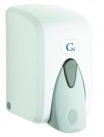 Dávkovač pěnového mýdla Cormen - plastový, bílý, kapacita 500 ml
