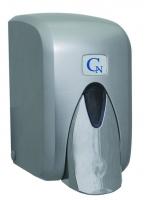 Dávkovač pěnového mýdla Cormen - plastový, metallic, kapacita 500 ml