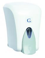 Dávkovač pěnového mýdla Cormen - plastový, bílý, kapacita 1 l
