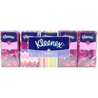 Papírové kapesníčky Kleenex Original - třívrstvé, 100% celulóza, 10 balíčků
