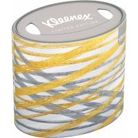 Kosmetické kapesníčky Kleenex Limited Edition - ovál, třívrstvé, 100% celulóza, 64 ks - DOPRODEJ