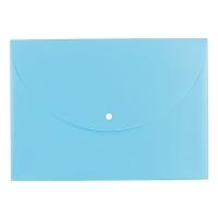 Spisové desky s drukem A4 Deli Rio E38131 - plastové, modré
