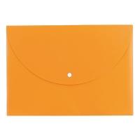 Spisové desky s drukem A4 Deli Rio E38131 - plastové, oranžové