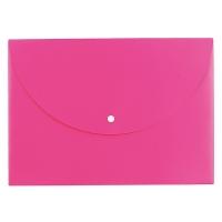 Spisové desky s drukem A4 Deli Rio E38131 - plastové, růžové