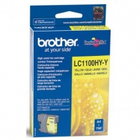 Brother originální ink LC-1100HYY, yellow, 750str., high capacity, Brother DCP-6690CW, MFC-6490CW