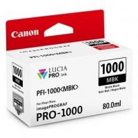 Canon originální ink 0545C001, matte black, 5490str., 80ml, PFI-1000MBK, Canon imagePROGRAF PRO-1000