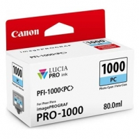 Canon originální ink 0550C001, cyan, 5140str., 80ml, PFI-1000PC, Canon imagePROGRAF PRO-1000