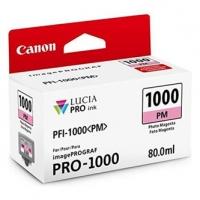 Canon originální ink 0551C001, photo magenta, 3755str., 80ml, PFI-1000PM, Canon imagePROGRAF PRO-1000