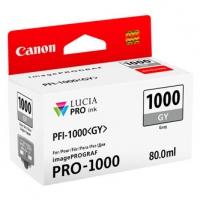 Canon originální ink 0552C001, grey, 1465str., 80ml, PFI-1000GY, Canon imagePROGRAF PRO-1000