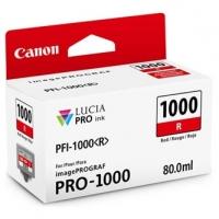 Canon originální ink 0554C001, red, 5355str., 80ml, PFI-1000R, Canon imagePROGRAF PRO-1000