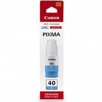 Canon originální ink 3400C001, cyan, 7700str., 70ml, GI-40 C, Canon PIXMA G5040,G6040