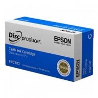 Epson originální ink C13S020447, cyan, PJIC1, Epson PP-100