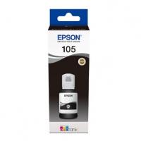 Epson originální ink C13T00Q140, 105, black, 140ml, Epson EcoTank ET-7700, ET-7750 Express Premium ET-7750
