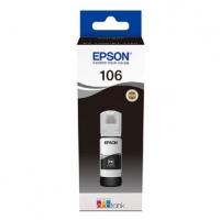 Epson originální ink C13T00R140, 106, black, 70ml, Epson EcoTank ET-7700, ET-7750 Express Premium ET-7750