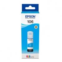 Epson originální ink C13T00R240, 106, cyan, 70ml, Epson EcoTank ET-7700, ET-7750 Express Premium ET-7750
