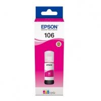 Epson originální ink C13T00R340, 106, magenta, 70ml, Epson EcoTank ET-7700, ET-7750 Express Premium ET-7750