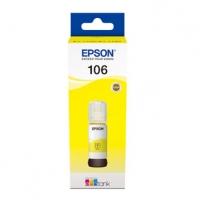 Epson originální ink C13T00R440, 106, yellow, 70ml, Epson EcoTank ET-7700, ET-7750 Express Premium ET-7750