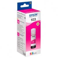 Epson originální ink C13T00S34A, 103, magenta, 65ml, Epson EcoTank L3151, L3150, L3111, L3110