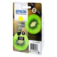 Epson originální ink C13T02F44010, 202, yellow, 1x4.1ml, Epson XP-6000, XP-6005