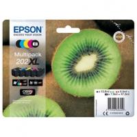 Epson originální ink C13T02G74010, 202 XL, CMYK, 1x13.8, 1x7.9ml, 3x8.5ml, Epson XP-6000, XP-6005