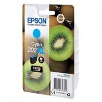 Epson originální ink C13T02H24010, 202 XL, cyan, 8.5ml, Epson XP-6000, XP-6005