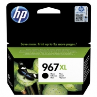 HP originální ink 3JA30AE#301, HP 963XL, black, blistr, 2000str., 48ml, high capacity, HP Officejet Pro 9012, 9014, 9015, 9016, 90