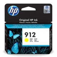 HP originální ink 3YL79AE, HP 912, yellow, 315str., high capacity, HP Officejet 8012, 8013, 8014, 8015 Officejet Pro 802