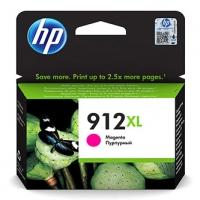 HP originální ink 3YL82AE, HP 912XL, magenta, 825str., high capacity, HP Officejet 8012, 8013, 8014, 8015 Officejet Pro 802