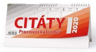 Stolní pracovní kalendář BSB1 - Citáty I, týdenní