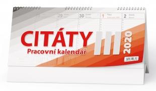 Stolní pracovní kalendář BSB3 - Citáty III, týdenní