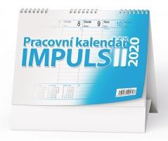 Stolní pracovní kalendář BSM2 - Impuls II, týdenní