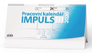 Stolní pracovní kalendář BSM3 - Impuls III, týdenní