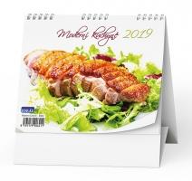 Stolní obrázkový kalendář BSK4 - Moderní kuchyně, týdenní