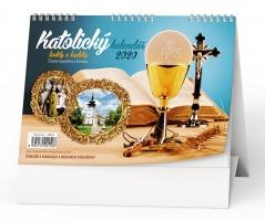 Stolní obrázkový kalendář BSC4 - Katolický, týdenní