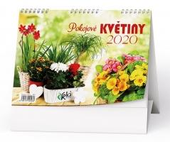 Stolní obrázkový kalendář BSC7 - Pokojové květiny, týdenní