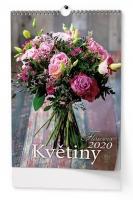 Nástěnný kalendář BNG7 - Květiny, A3, měsíční