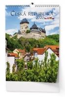 Nástěnný obrázkový kalendář BNK0 - Česká republika, A3, měsíční