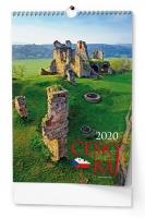 Nástěnný obrázkový kalendář BNK3 - Český ráj, A3, měsíční