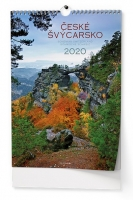 Nástěnný obrázkový kalendář BNK4 - České Švýcarsko, A3, měsíční