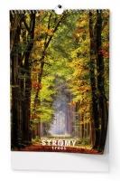 Nástěnný obrázkový kalendář BNK8 - Stromy, A3, měsíční