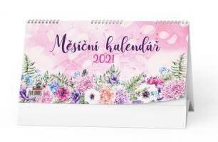 Stolní obrázkový kalendář - měsíční